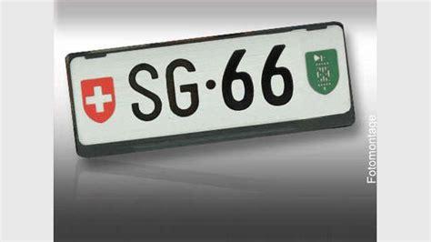 Teuerste Auto Nummernschild Schweiz by Rekord Auktion In Der Schweiz Dieses Kennzeichen Kostet