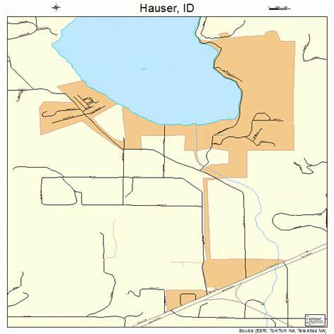 Hauser Idaho Map 1635830