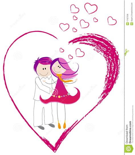 kawaii valentines day doodle boy and vector vector illustration