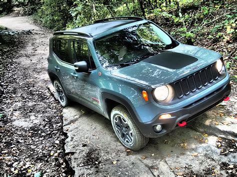 jeep renegade exterior 2016 jeep renegade trailhawk review