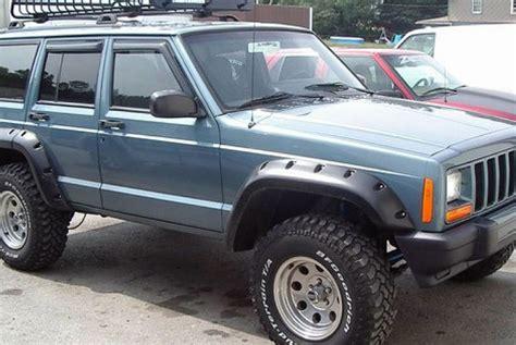 1999 jeep fender flares bushwacker 174 jeep sport utility 1984 2001 cut