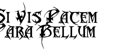 si vis pacem para bellum tattoo tattoo collections