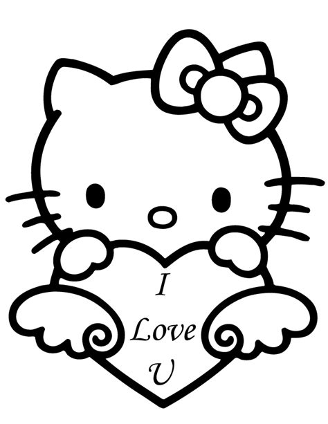 coloring pages printable hello kitty 5 ace images free printable hello kitty coloring pages coloring home