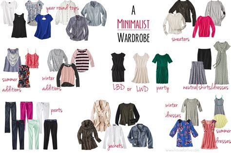 minimalist wardrobe for