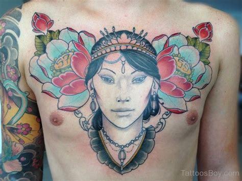 geisha tattoo on chest geisha tattoos tattoo designs tattoo pictures