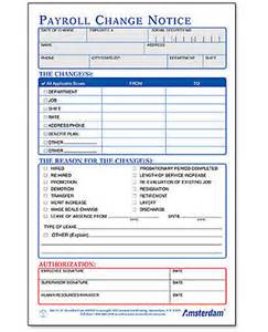 payroll change notice form template banks payroll products calendar template 2016