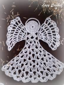 lacy crochet crochet angels