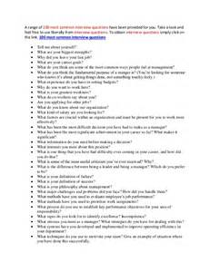 most common questions the best answers