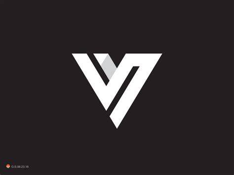 V - via @designhuntapp | LOGO | Pinterest | Logos, Logo ... V And S Logo Design