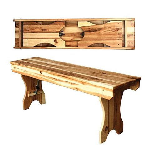fold up bench fold up leg bench amish crafted furniture