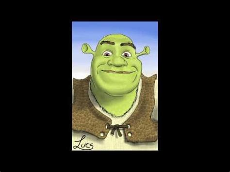 free shrek painting shrek finger painting by lucs on iphone 4