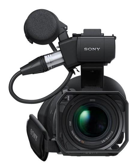 Kamera Sony Pxw X70 kompakt prof kamera med 4k fremtid lyd billede