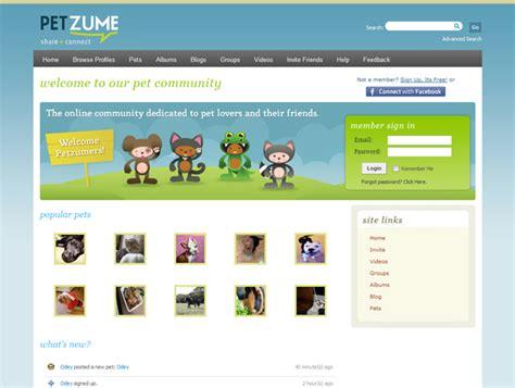 home design social network web design portfolio petzume social network