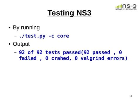 ns3 eclipse tutorial 1 session installation