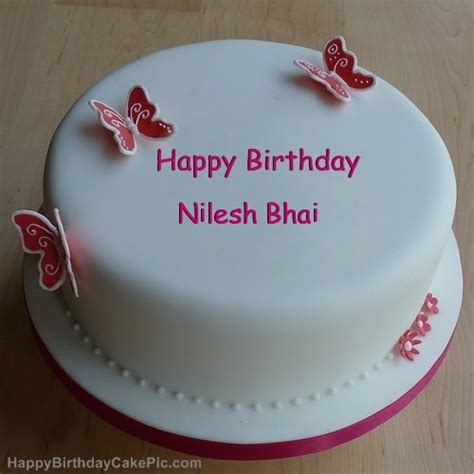 happy birthday nilesh mp3 free download butterflies girly birthday cake for nilesh bhai