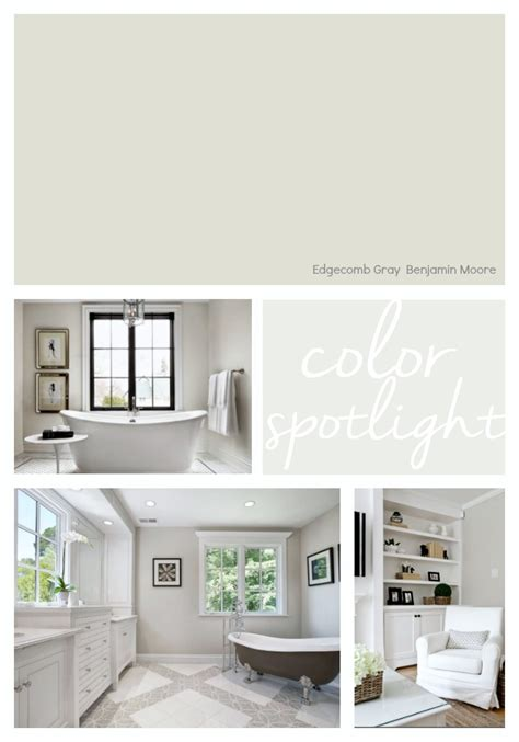 benjamin paint benjamin moore edgecomb gray color spotlight