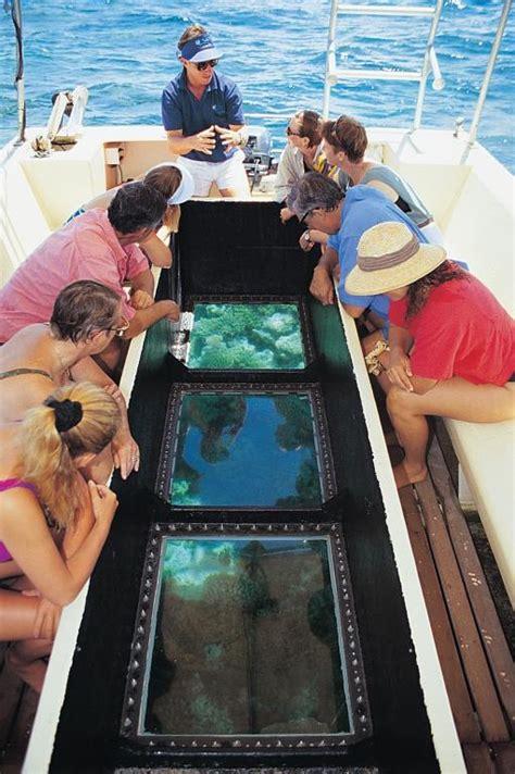 glass bottom boat vanuatu 7 night cairns to cairns cruise