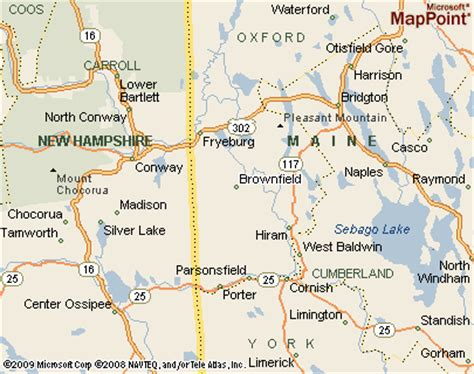 brownfield map brownfield maine