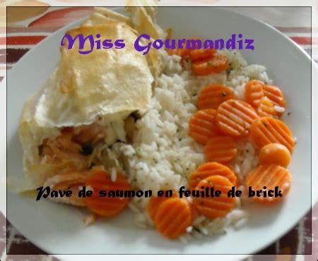 Pavé Saumon Grillé Four by Pav 233 De Saumon En Feuille De Brick Ma Bulle Gourmande