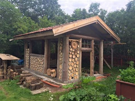 cordwood  sweden  pelle henrikssons cordwood sauna tiny houses sheds cordwood homes