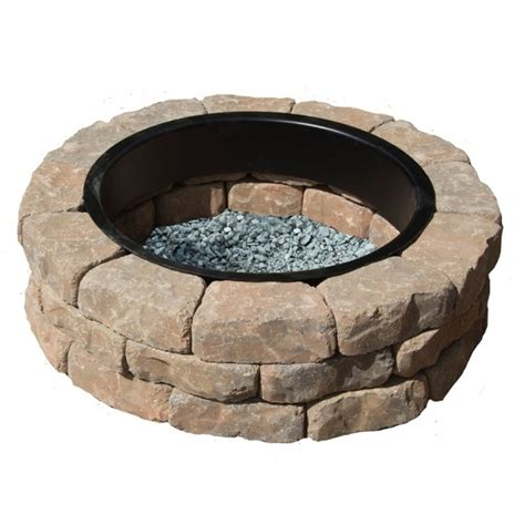 lowes firepit kit lowes pit kit pit ideas