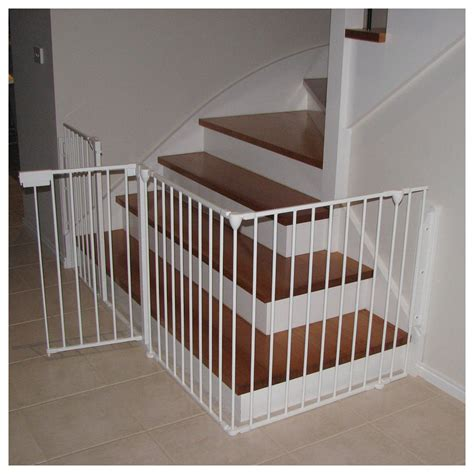 best baby gate for top of stairs with banister child gate for stairs best 25 baby gates stairs ideas on