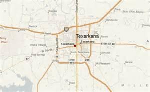 texarkana map texarkana location guide