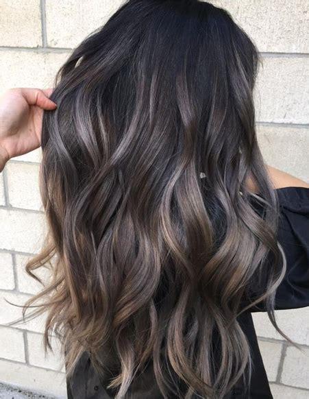 layered hair color ideas ash hair color ideas for layered hairstyles 2018