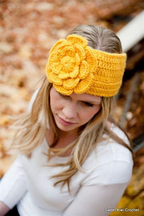 104 best crochet headband ear warmer images on 104 best images about crochet headband ear warmer on