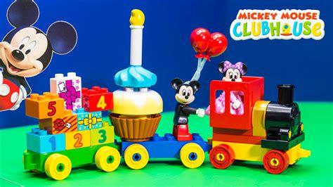 mickey minnie lego duplo birthday parade review