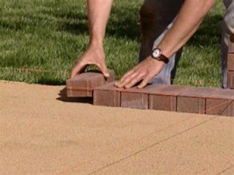 How To Install A Brick Patio by How To Create A Brick Patio How Tos Diy