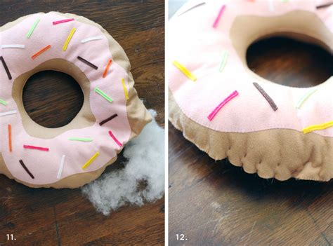 Donut Pillow Diy by Diy Donut Cushion Elke Magazine We Live For