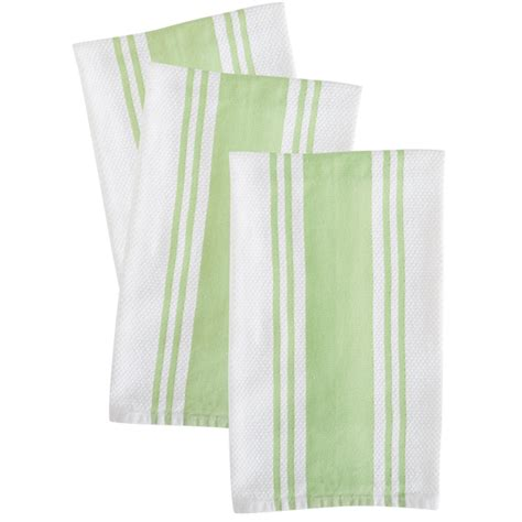 Green Kitchen Towel Set by Green Kitchen Towels Set Of 3 Mixed Bag Designs