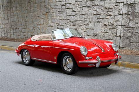 porsche speedster 1960 porsche 356 roadster