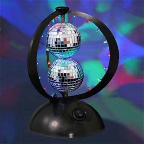 bedroom disco ball disco ball 8 75 in led novelty table l home decor