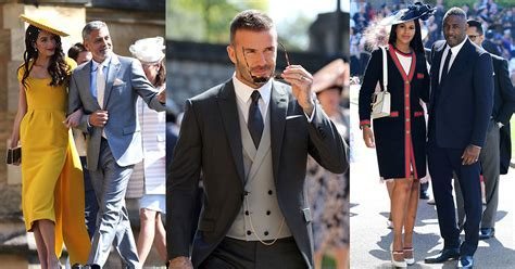 The Best Dressed Men at the Royal Wedding 2018   Vogue Arabia