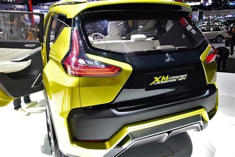 mitsubishi xm concept models at 33rd thailand international motor expo