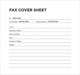 8 office fax cover sheet free sle exle format