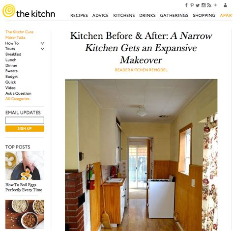 the kitchn my big bear cottage featured on the kitchn after orange