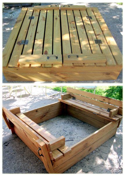 fold out bench fold out sand box i like the handles crafts pinterest