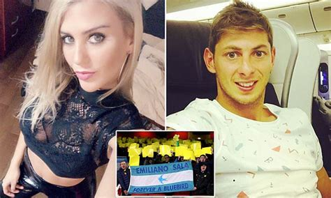 sala wife model ex girlfriend of footballer emiliano sala says she