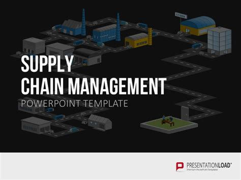 supply chain management powerpoint template supply chain management ppt template
