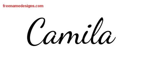 camila archives free name designs