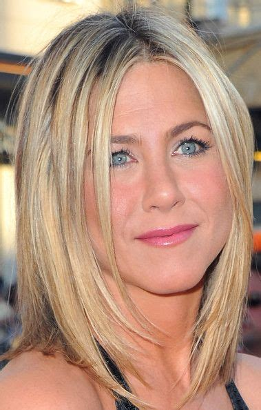 medium haircuts aniston 17 best images about hair styles highlights on aniston brown and bobs