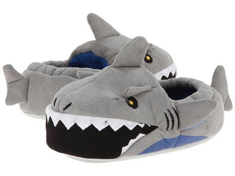 boys shark slippers stride rite lighted shark toddler kid