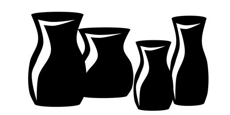 Clip Vase by Ceramic Vase Clipart Clipground