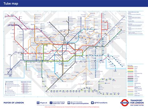 map of underground stations transport for