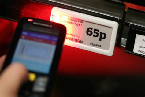 digital price sainsbury s ditches paper for digital price tags psfk
