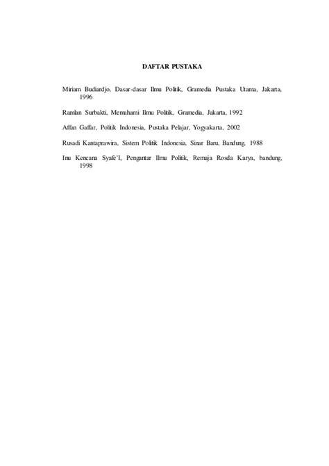 Sistem Politik Indonesia Inu Kencana Ori makalah ilmu sosial dan politik