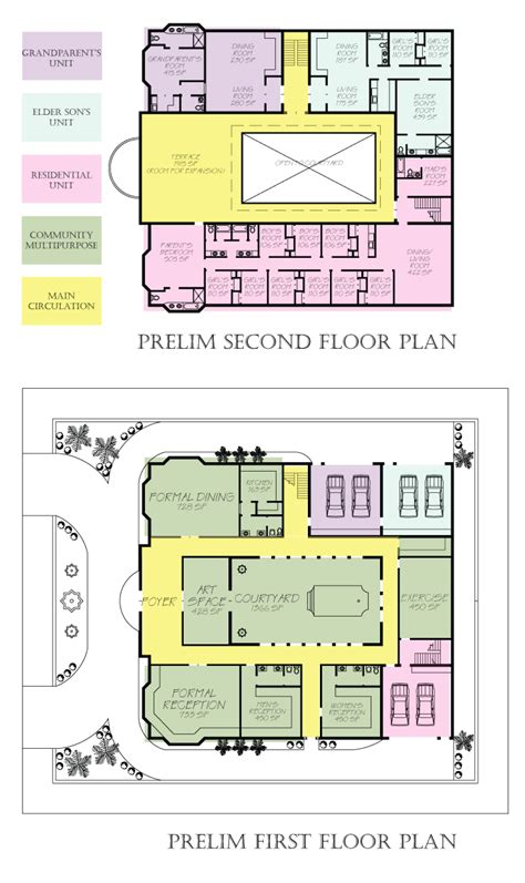 family compound floor plans elizabeth bufton extended family residence in riyadh